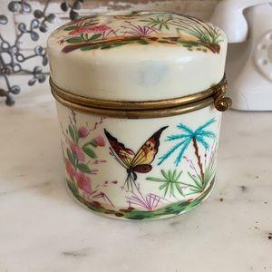Beautiful hand painted box